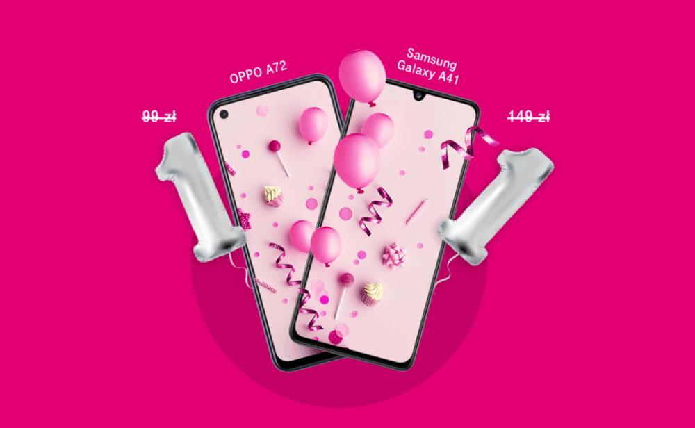 Smartfony za złotówkę na 9. urodziny T-Mobile