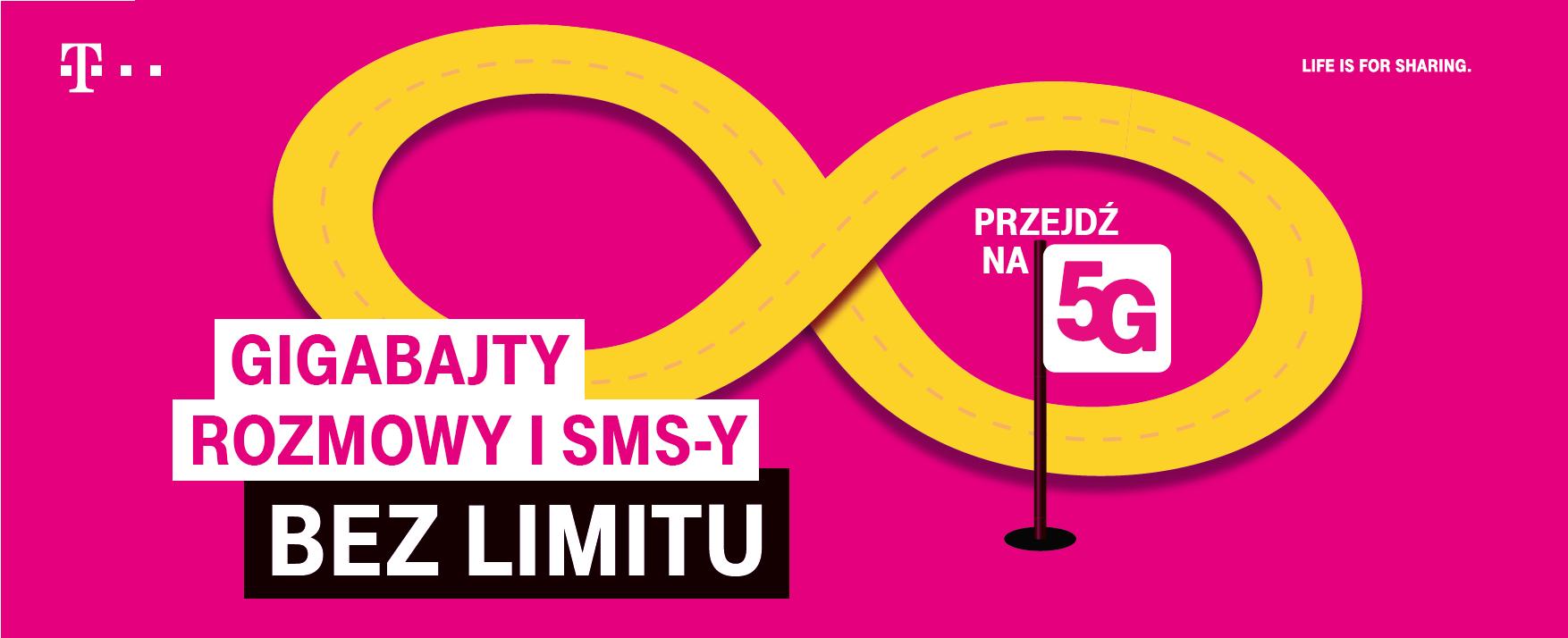 Taryfy dla tych, którzy nie lubią się ograniczać - T-Mobile z kampanią promującą nowe oferty i 5G