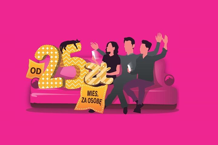 """""""W rodzinie im więcej, tym lepiej"""" - startuje nowa kampania T-Mobile"""