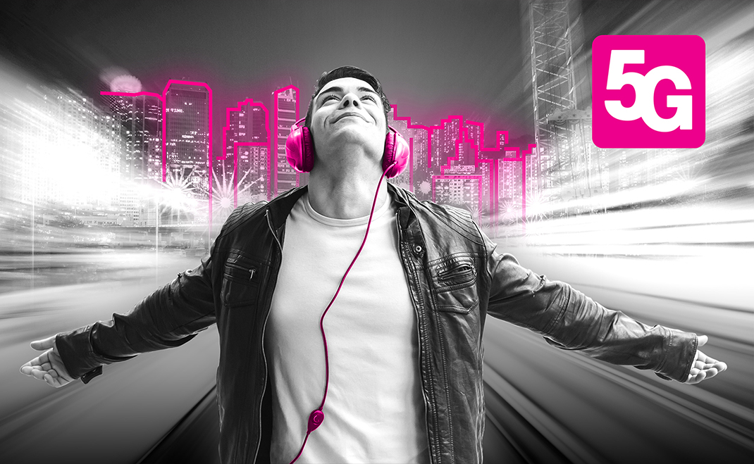 Przyłącz się do 5G – T-Mobile uruchamia komercyjną sieć nowej generacji