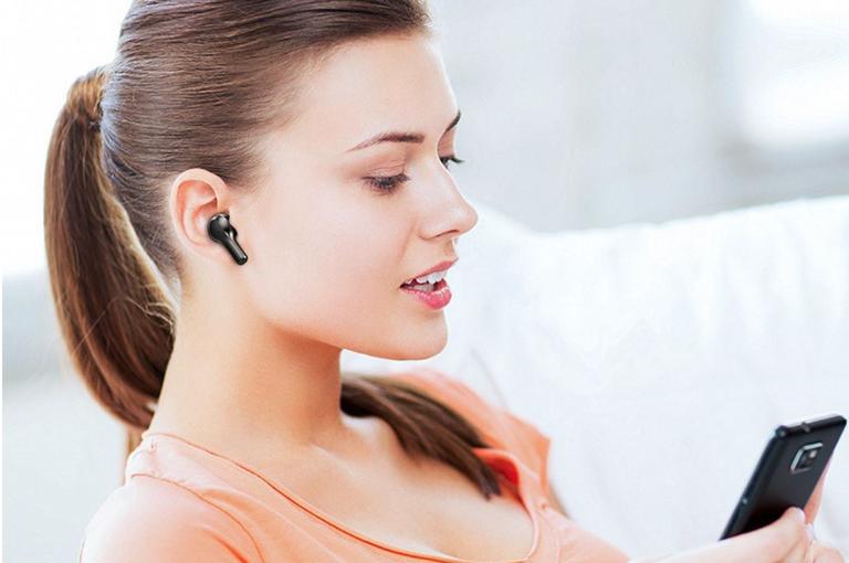 Słuchawki bezprzewodowe Earbuds TWS – teraz w ofercie Tomtop ze zniżką