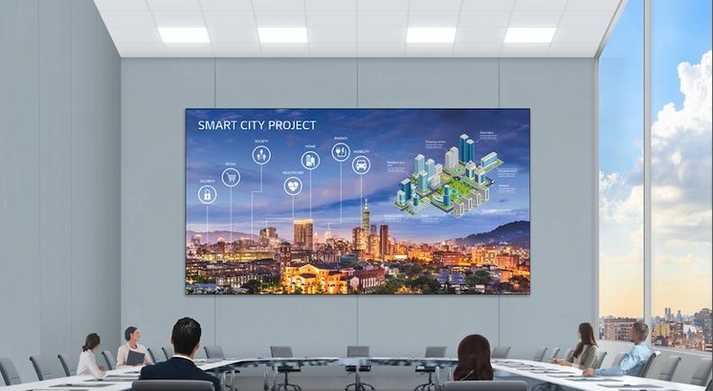 Nowy monitor LG LED Signage z bezstykowymi złączami zapewnia jeszcze lepszy obraz i łatwiejszą instalację