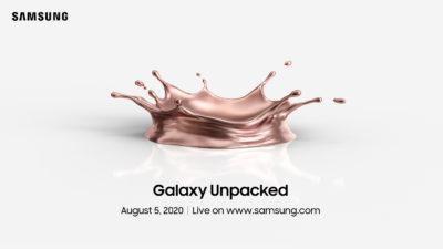 Samsung zaprasza na Galaxy Unpacked 2020