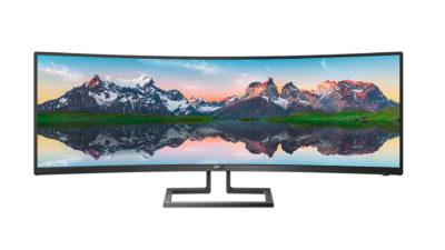 Dwa monitory w jednym - Philips 498P9 z panelem 32:9