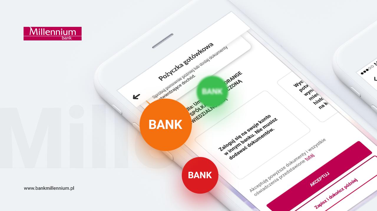 Bank Millennium dodał kolejny bank do usługi potwierdzenia dochodu z wykorzystaniem logowania do innego banku