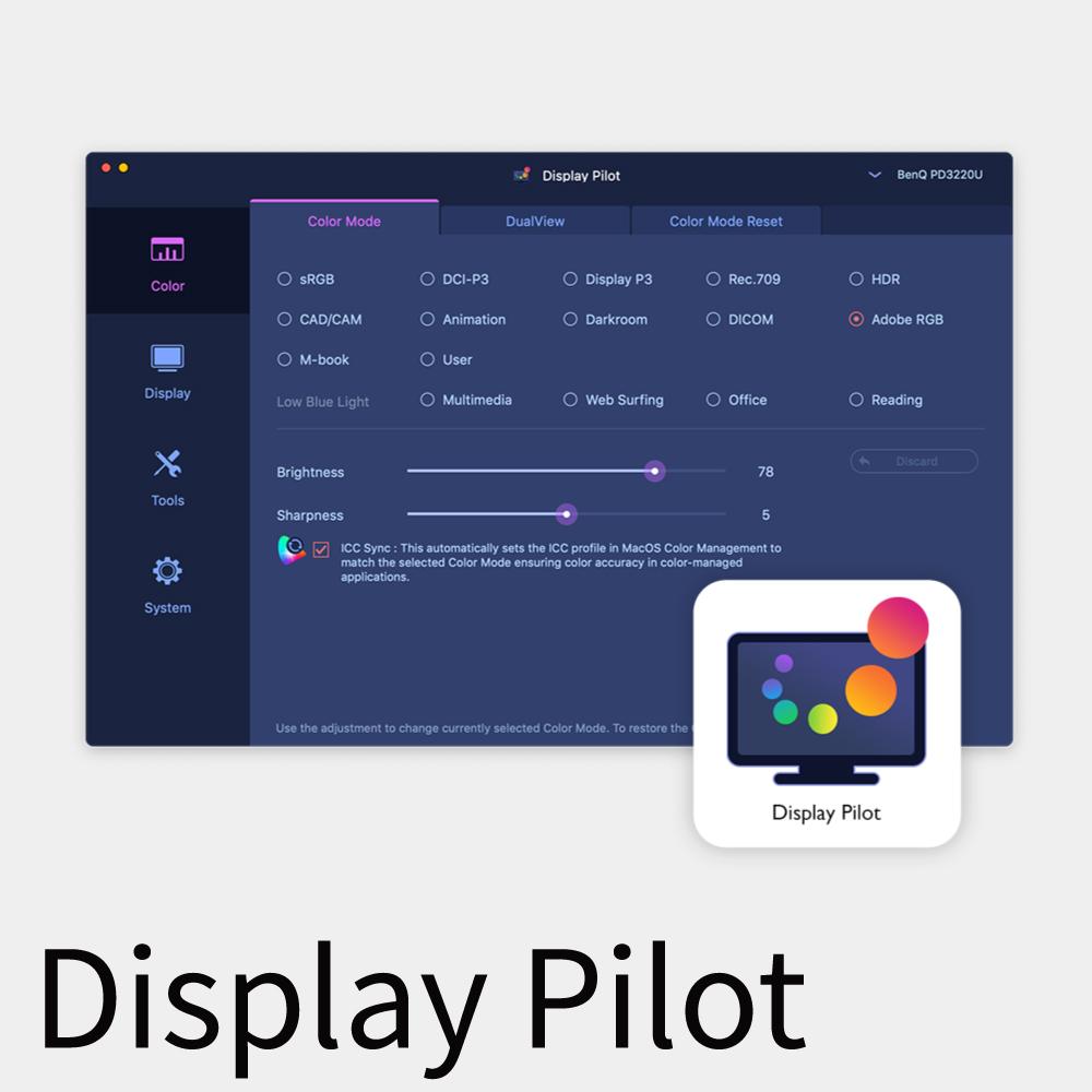 BenQ PD2705Q DisplayPilot