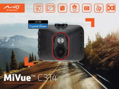 Mio MiVue C314 - wideorejestator na każdą kieszeń