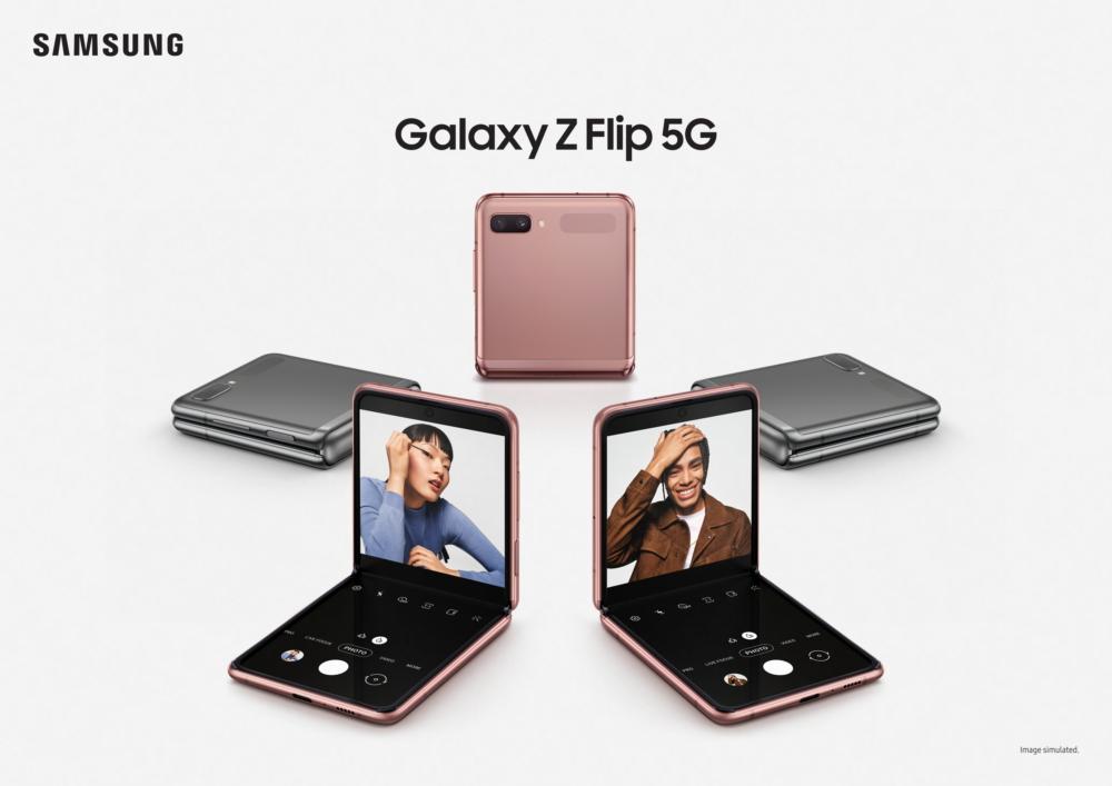 Samsung prezentuje Galaxy Z Flip 5G