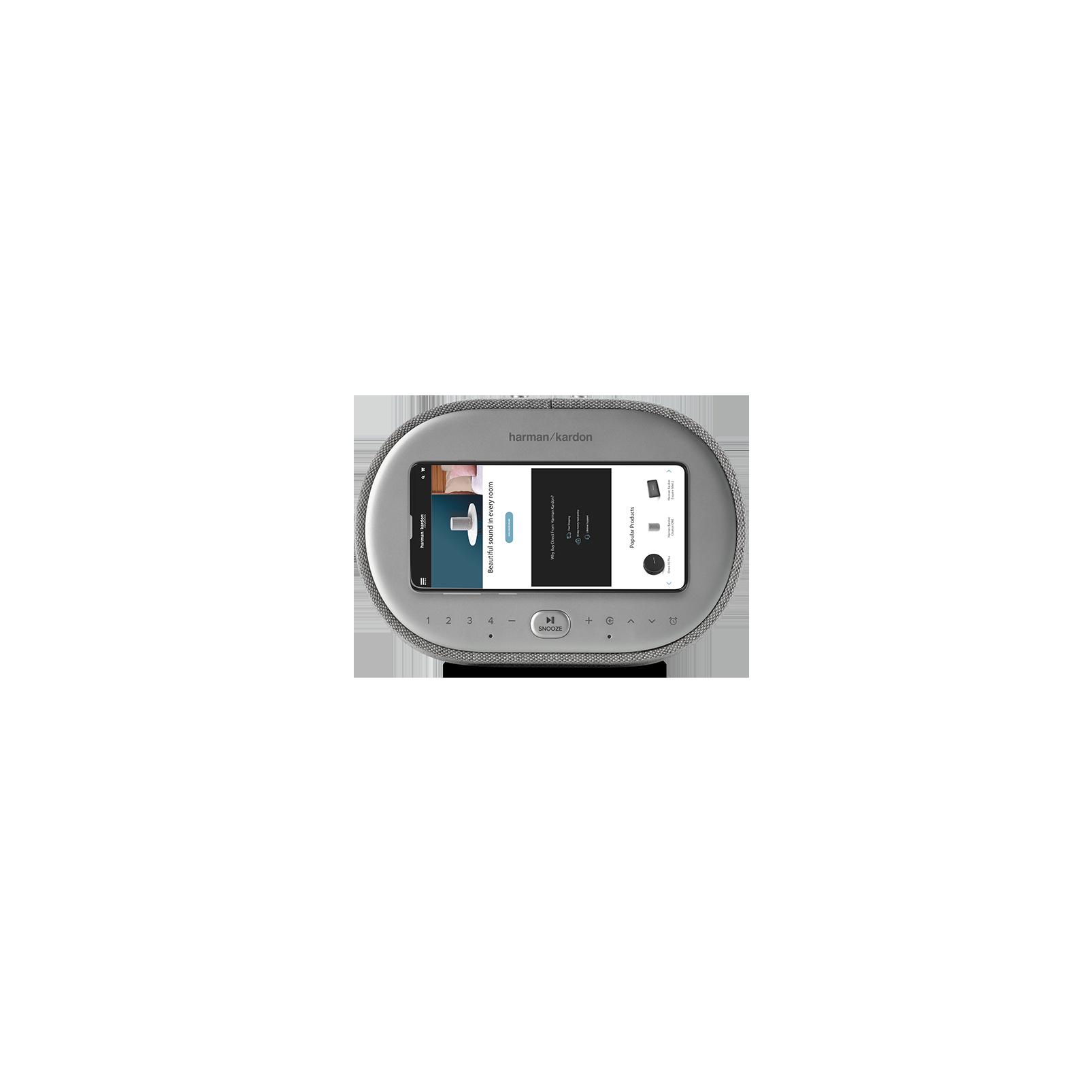HK Citation OASIS Product Image Grey Top Phone