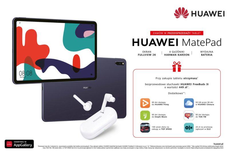 Huawei MatePad oferta w przedsprzedaÅ