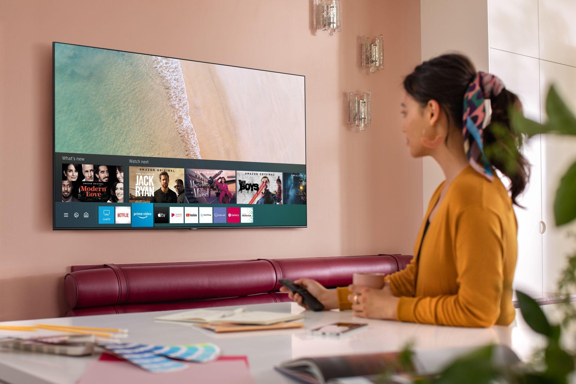 Ponad 2 miliony gospodarstw domowych w Polsce aktywnie korzysta z Samsung Smart TV