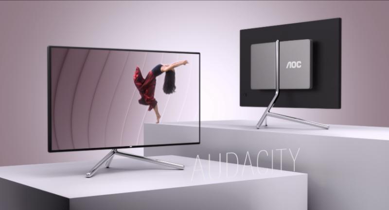 Współpraca Studio F. A. Porsche i AOC: monitor 4K z HDR 600