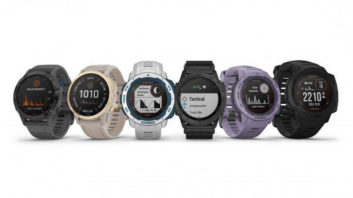 Garmin prezentuje nową linię zegarków Solar Edition