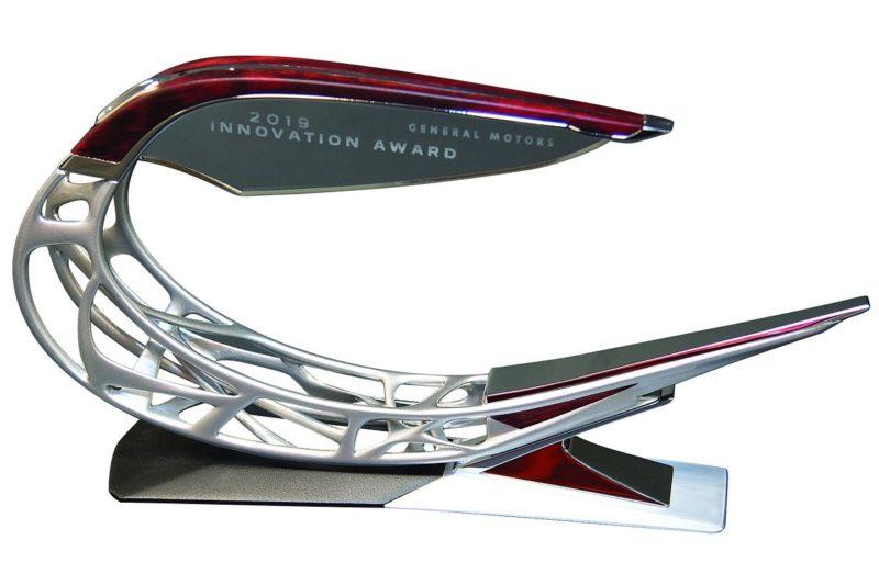 LG z tytułem Innowatora Roku przyznanym przez General Motors
