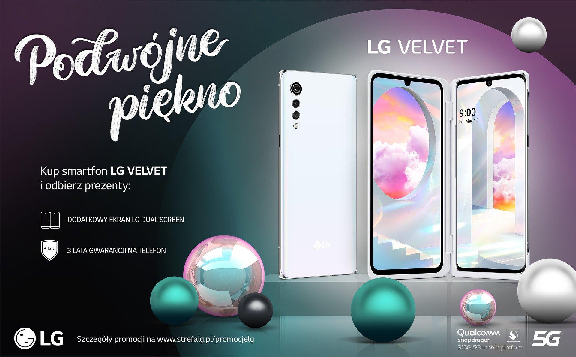 Moc wakacyjnych promocji od LG - Deskorolka, dodatkowy ekran OLED LG Dual Screen czy bezprzewodowe słuchawki