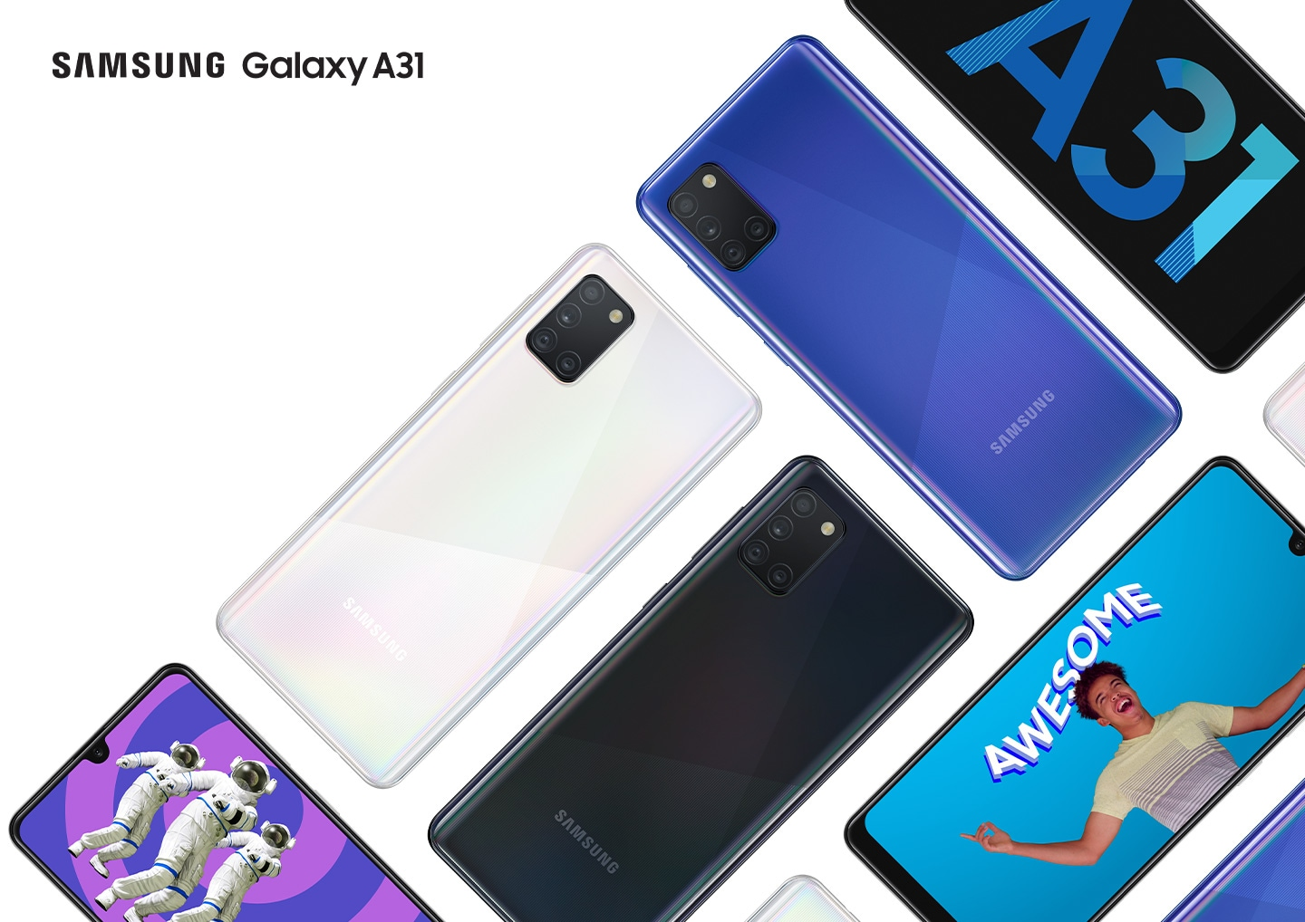 Samsung prezentuje model Galaxy A31
