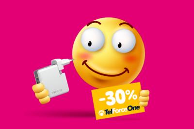 Rabat 30% na akcesoria TelForceOne od T-Mobile