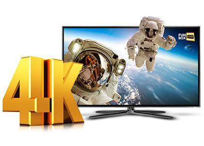 Vectra konsekwentnie inwestuje w jakościowe usługi 4K Ultra HD