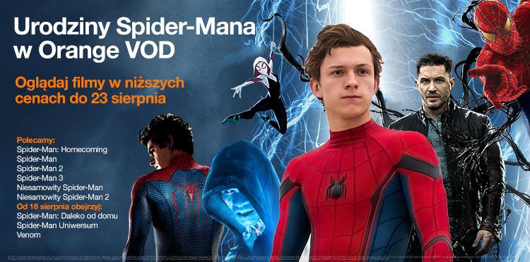 Urodziny Spider-Mana w Orange VOD