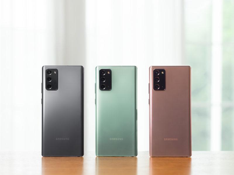 Galaxy Note20 debiutuje na polskim rynku