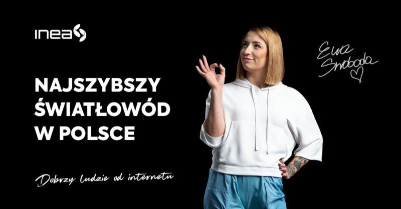 Najszybszy światłowód w Polsce od INEA