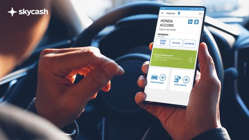 SkyCash umożliwi płatności mobilne za parkowanie w Katowicach