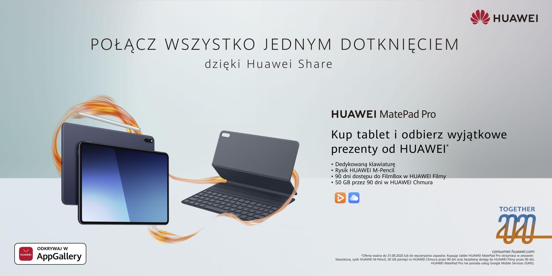 Together 2020   MatePad Pro oferta