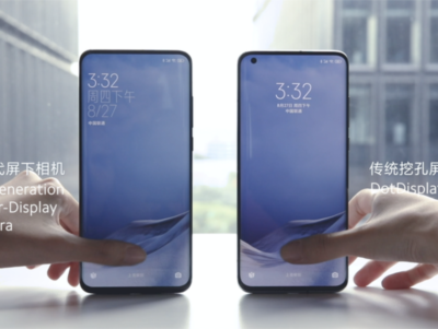 Xiaomi - smartfony z aparatem pod ekranem już w przyszłym roku