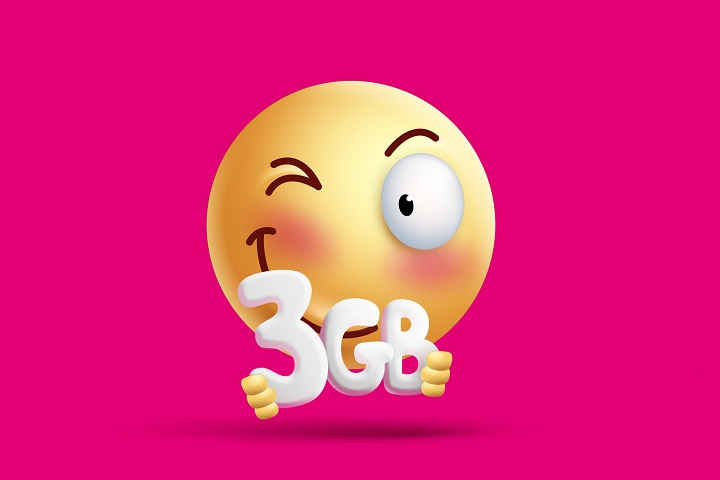 """Blisko 44 mln bezpłatnych GB w ciągu pół roku – T-Mobile rozdaje kolejne gigabajty w ramach """"Happy Fridays"""""""