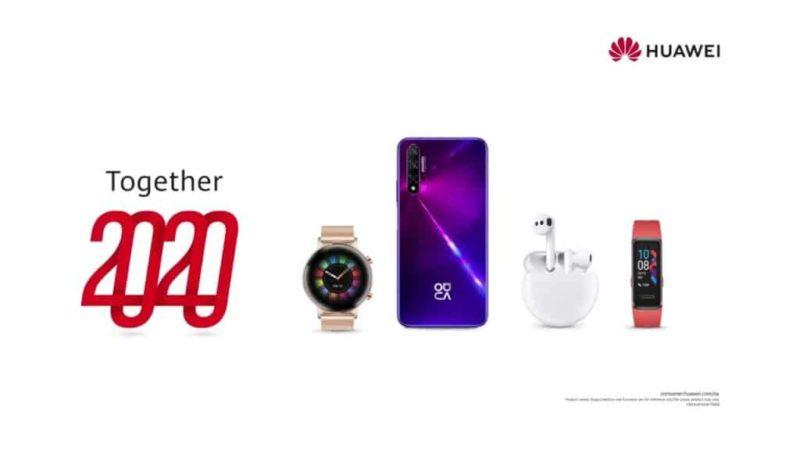 Huawei Together 2020: pierwsza tej skali kampania promująca ekosystem produktów i usług Huawei