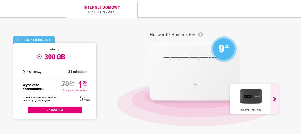 internet domowy 2 miesiace z 1 zl