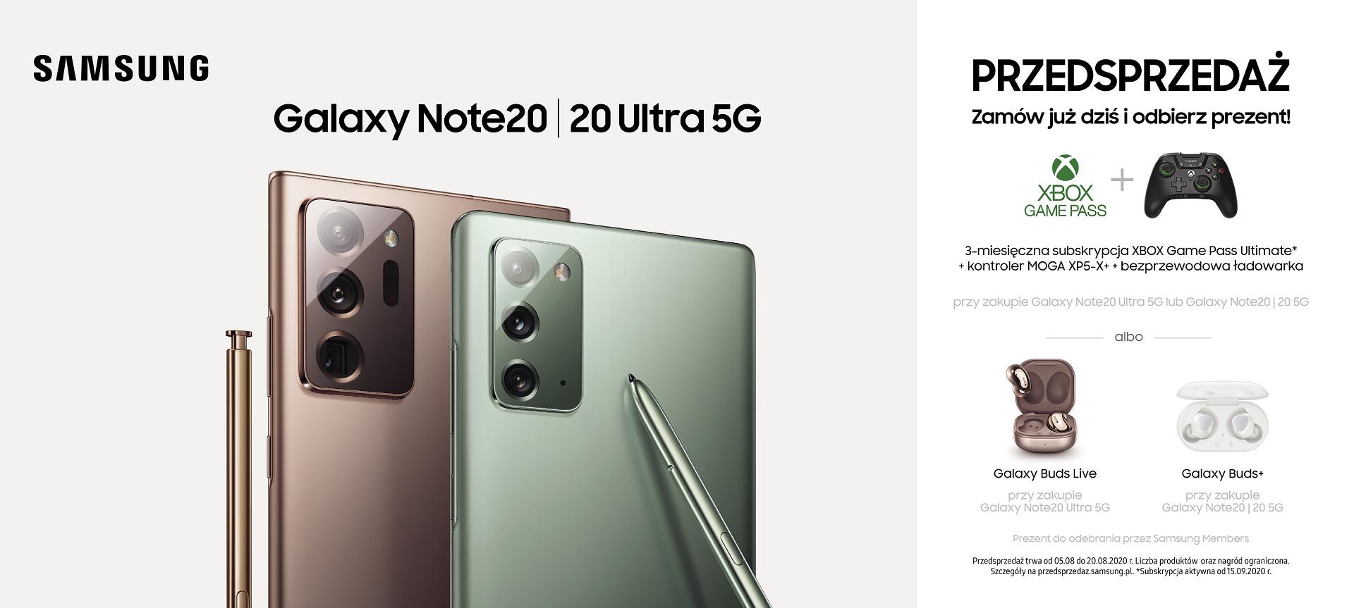 samsung galaxy note20 5g i note20 ultra 5g w przedsprzedazy t mobile