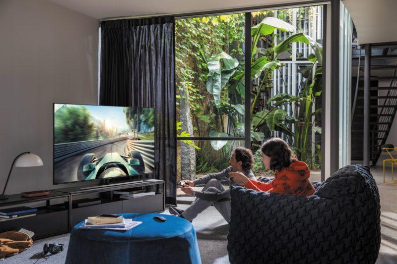 Jak przejąć kontrolę nad grą dzięki telewizorom QLED