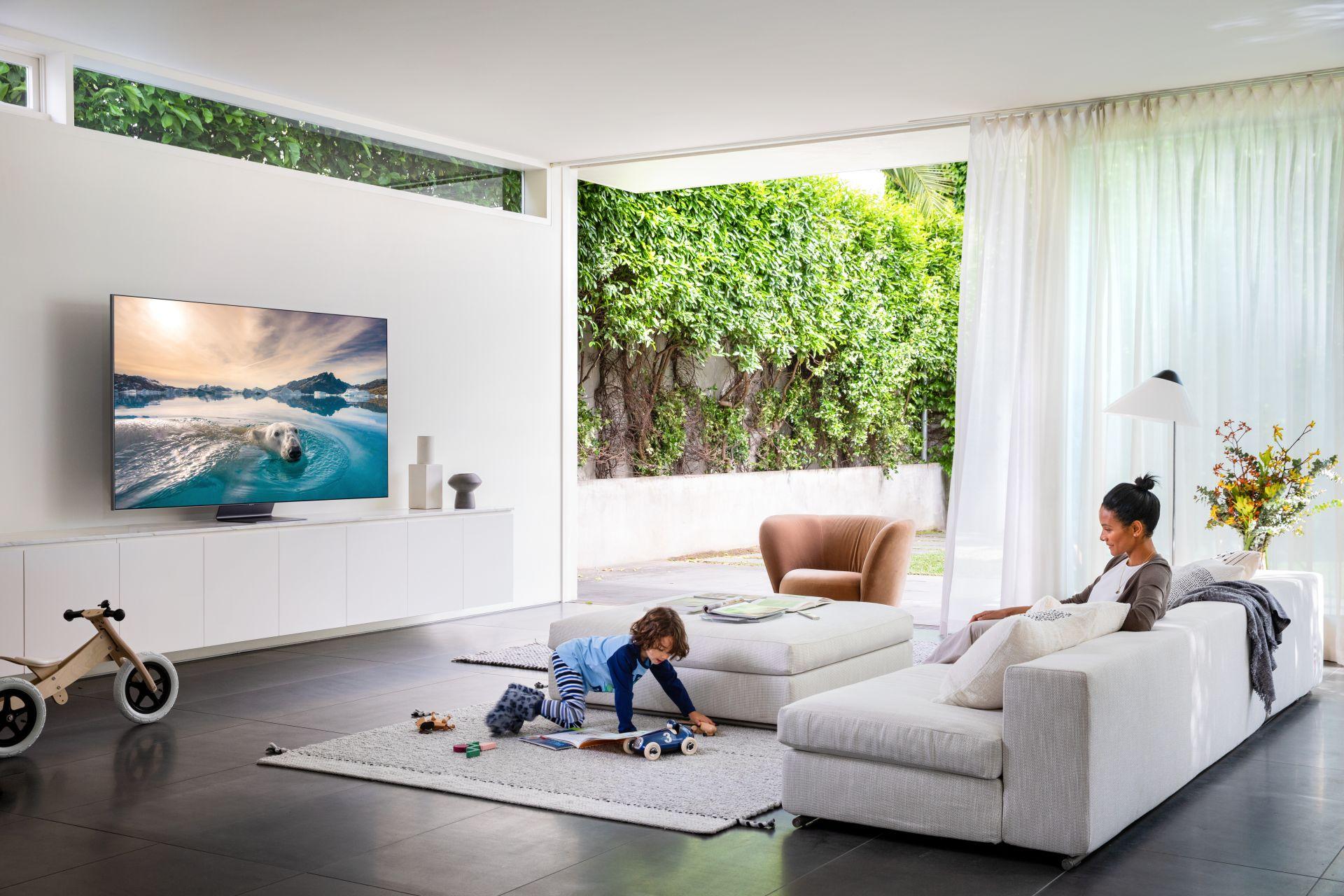 QLED Q95T w szerokiej sprzedaży - telewizor, który przyciąga każde spojrzenie