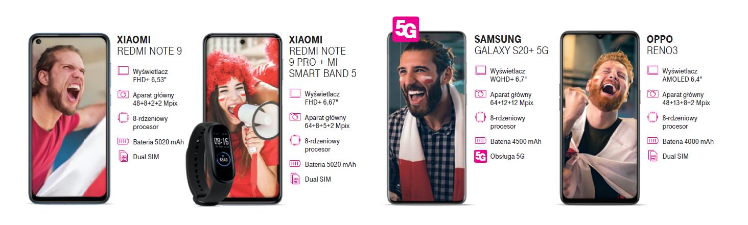 smartfony w ofercie kibica v2