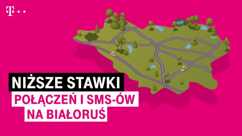 T-Mobile obniża stawki połączeń i SMS-ów na Białoruś
