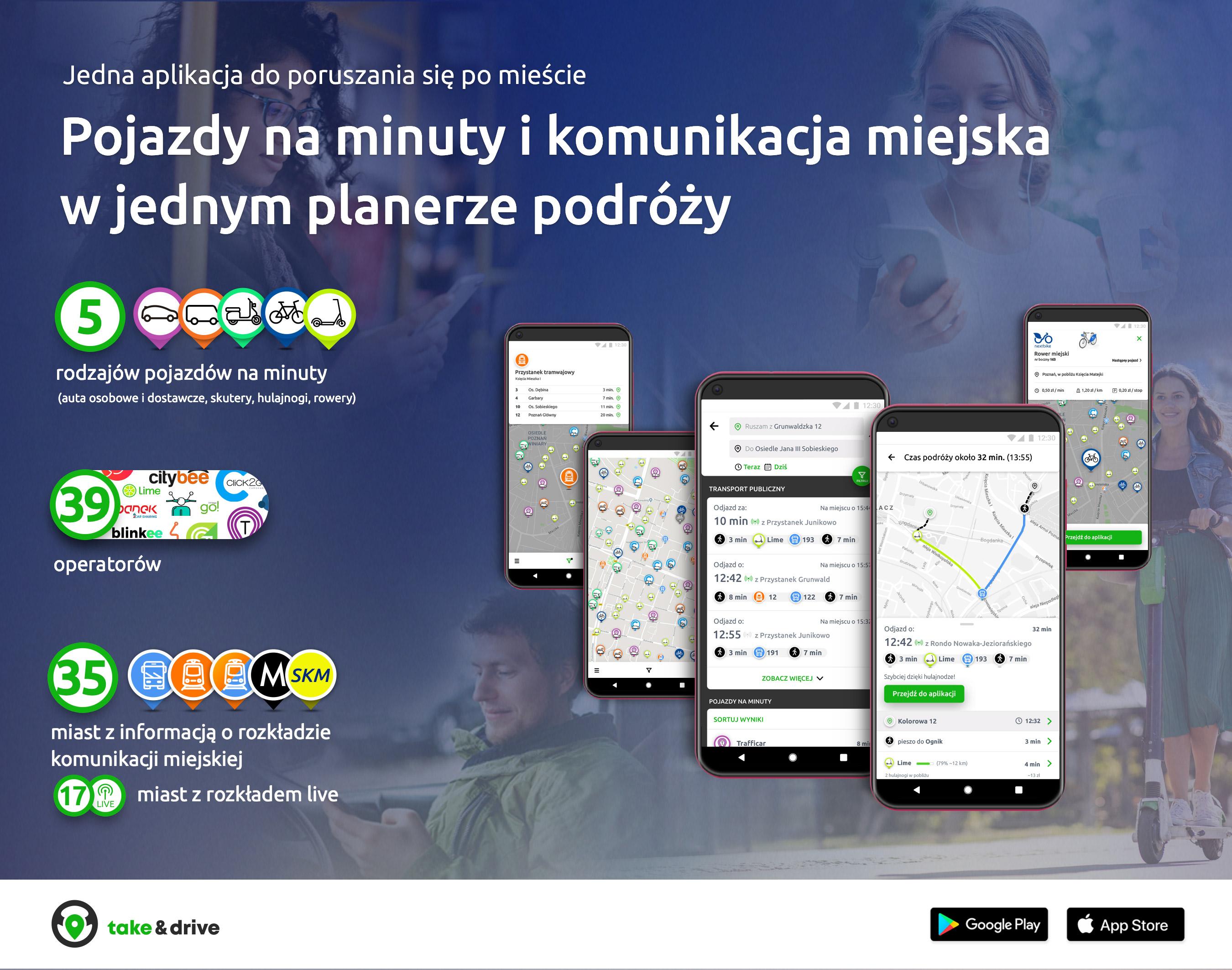 take&drive o aplikacji