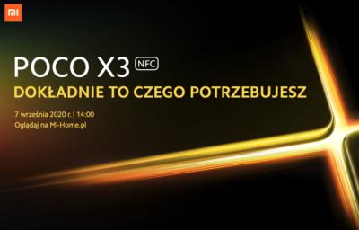 Xiaomi - globalna premiera POCO X3