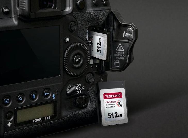 Superszybka karta pamięci do dynamicznej fotografii i filmowania od TRANSCEND