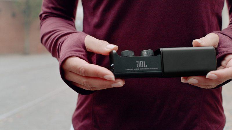JBL Under Armour True Wireless Flash X – sportowe słuchawki douszne