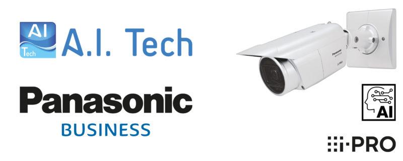 Panasonic security nawiązuje współpracę z firmą A.I.Tech w celu opracowania aplikacji zabezpieczających opartych na sztucznej inteligencji