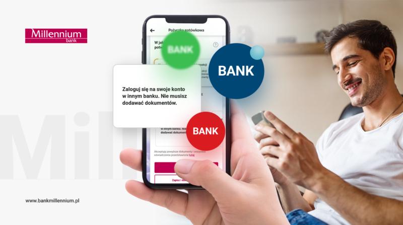 Bank Millennium dodał Inteligo do usługi potwierdzenia dochodu z wykorzystaniem logowania do innego banku