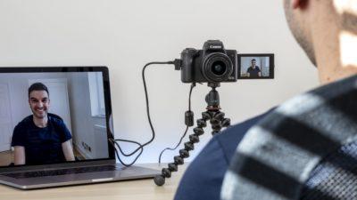 Canon EOS Webcam Utility – wysokiej jakości transmisje online za pomocą kabla USB