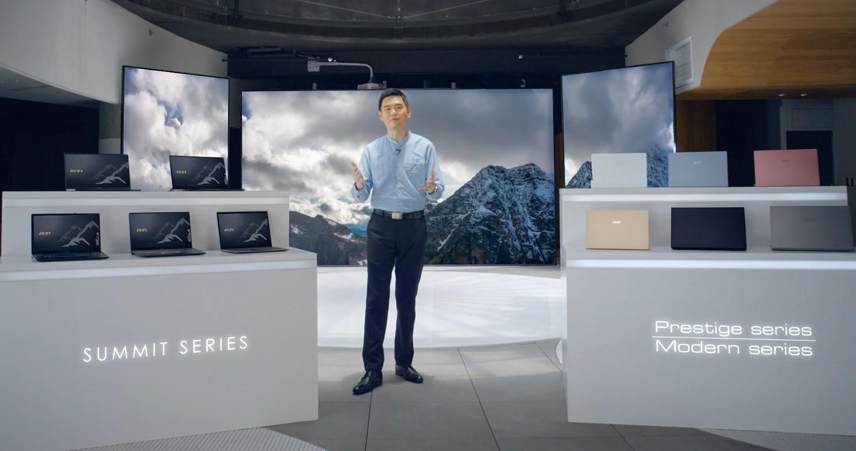 MSI prezentuje pierwszą w swojej historii serię wysokowydajnych laptopów do zastosowań biznesowych