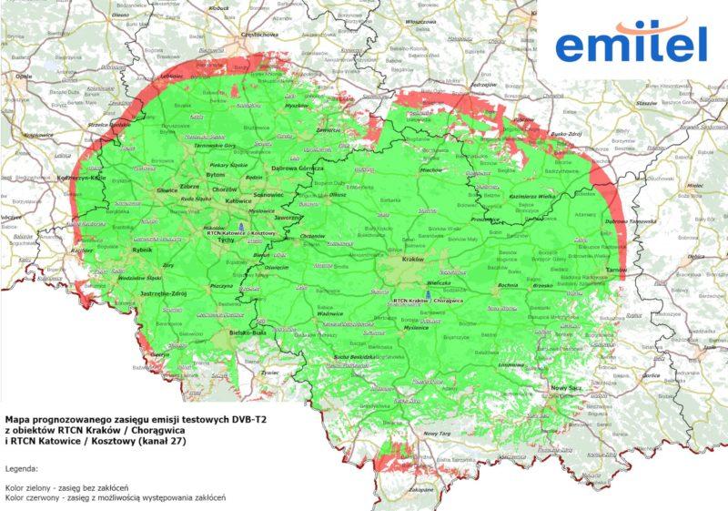 Telewizja Polska i Emitel prowadzą testy emisji telewizji naziemnej w standardzie DVB-T2
