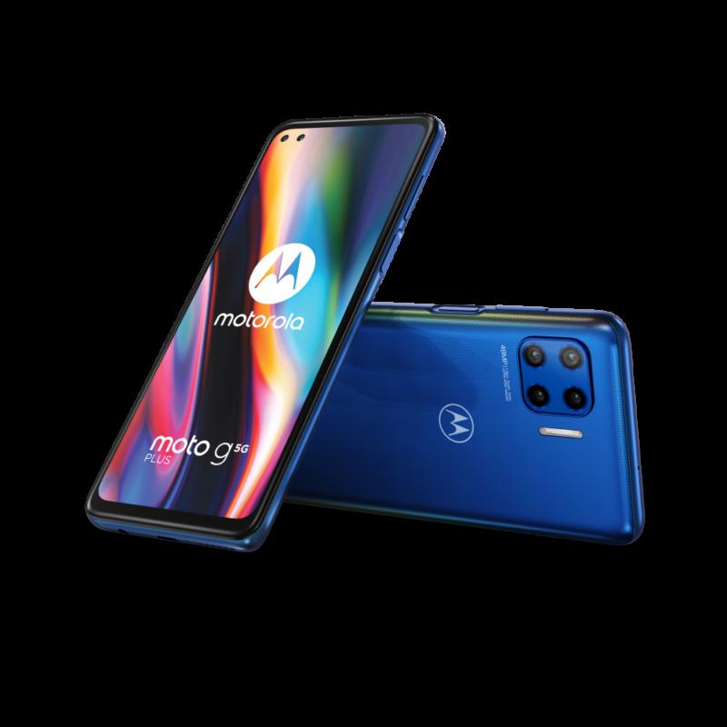 Motorola moto g 5G plus z dostępem do sieci najnowszej generacji w ofercie Plusa