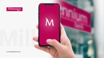 Zatwierdzanie transakcji zlecanych w oddziale Autoryzacją Mobilną – kolejny skok Banku Millennium w cyfryzacji usług