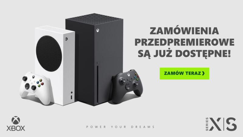 Rusza przedsprzedaż konsol dziewiątej generacji od Microsoft – Xbox Series X | S