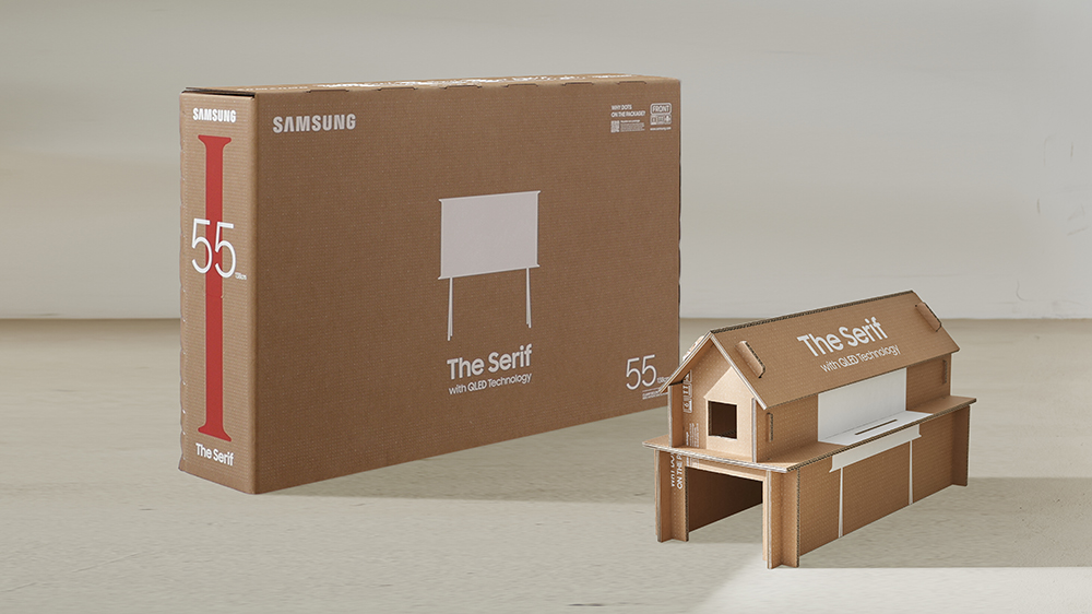 Samsung IDEA 2020 Silver Award Upcycling Solution for TV Packaging