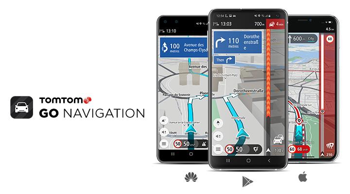 TomTom GO Navigation teraz dostępna we wszystkich głównych sklepach z aplikacjami